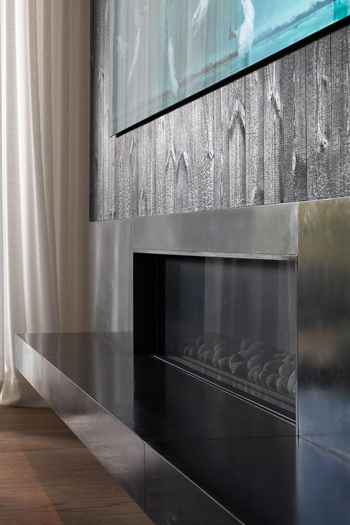 Oriinda Ridge Fireplace Room Detail Buestand Construction