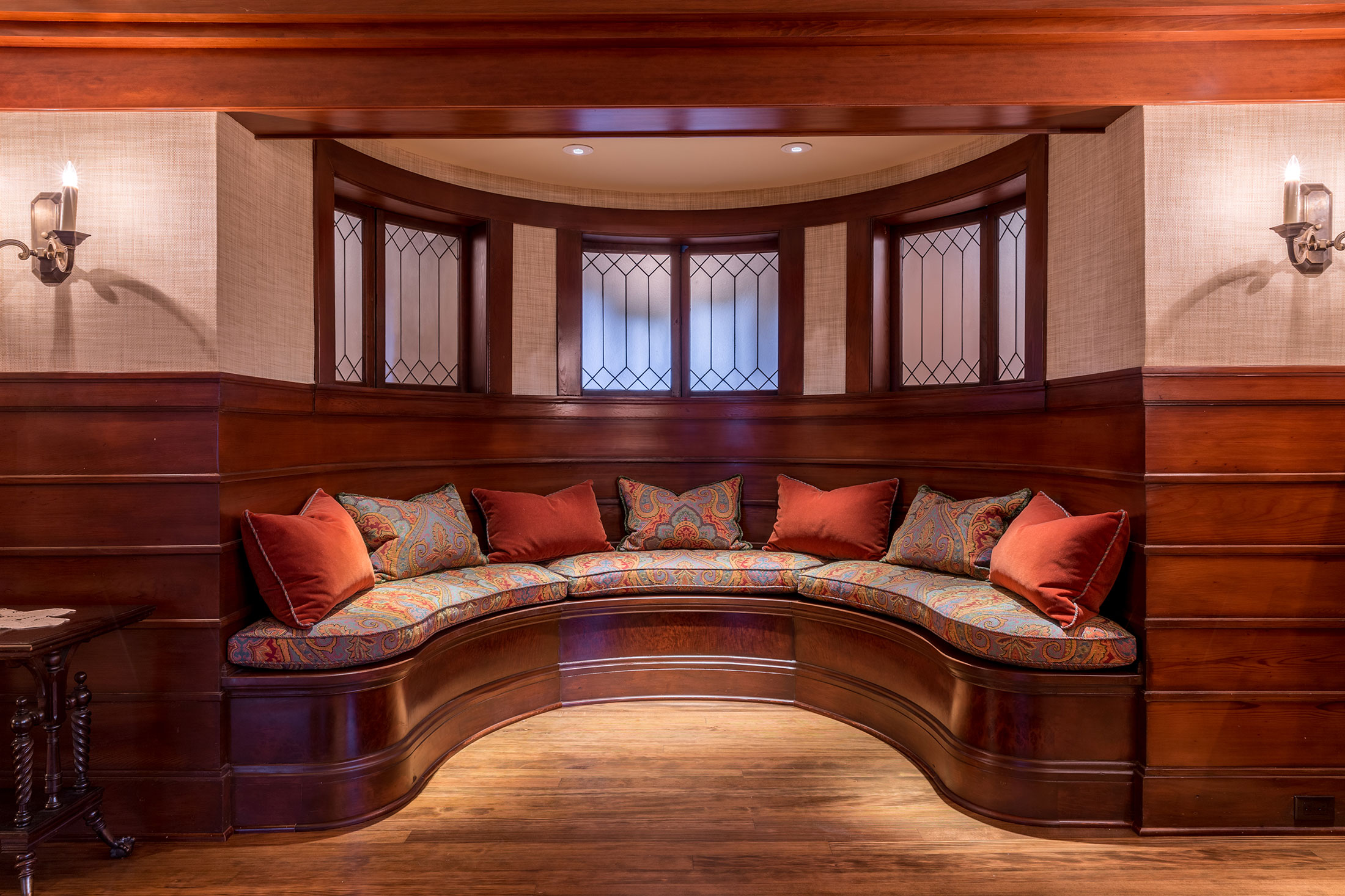 Clark Mansion Alameda Built In Alcove Seating Buestad Construction