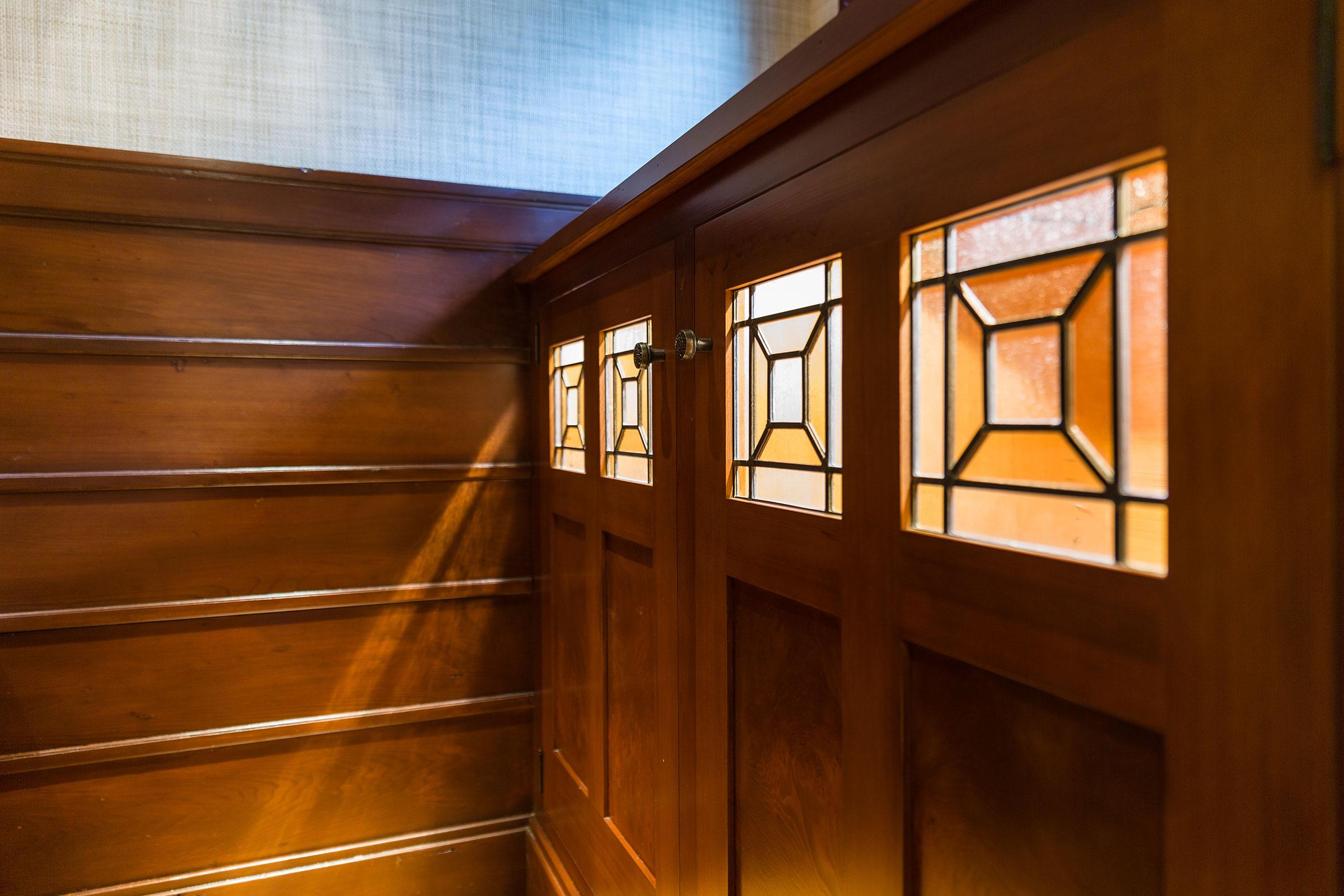 Clark Mansion Alameda Built In Cabinet Door Detail Buestad Construction