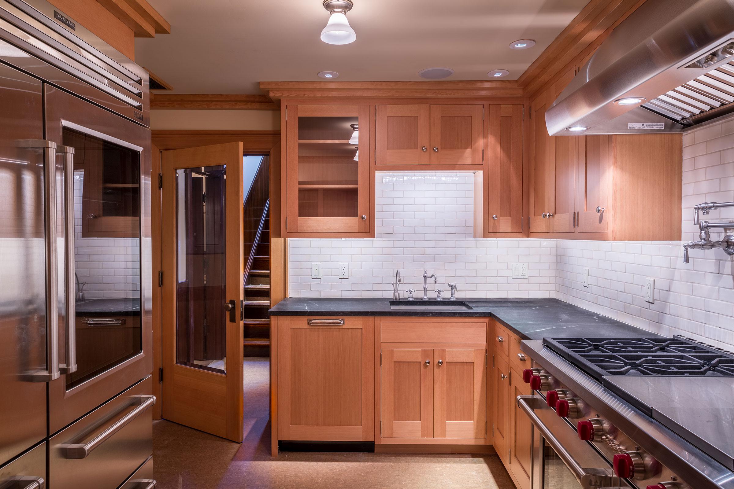 Clark Mansion Alameda Kitchen Buestad Construction