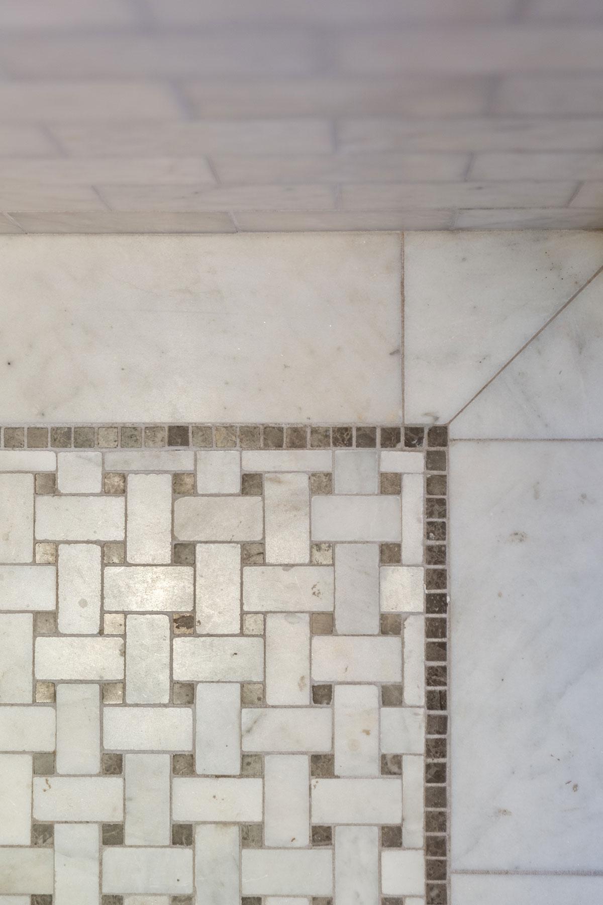 Clark Mansion Alameda Tile Detail Buestad Construction