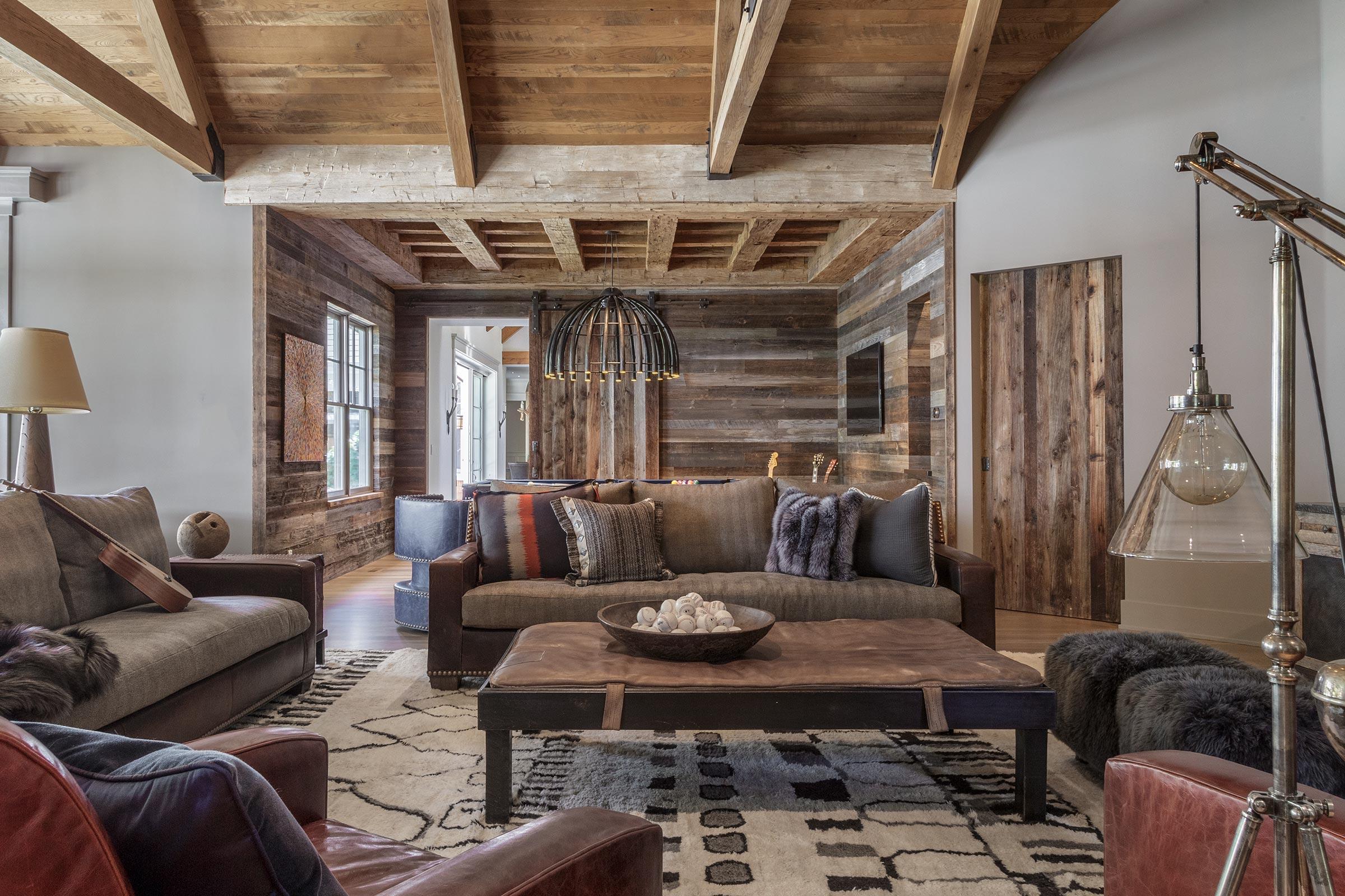 Diablo Shingle Style Lounge and Rec Room Buestad Construction