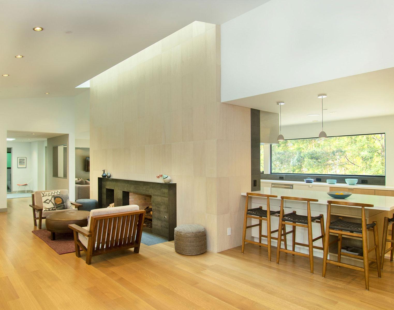 Orinda Woodlands Liviing Room With Dining Bar Buestad Construction v3