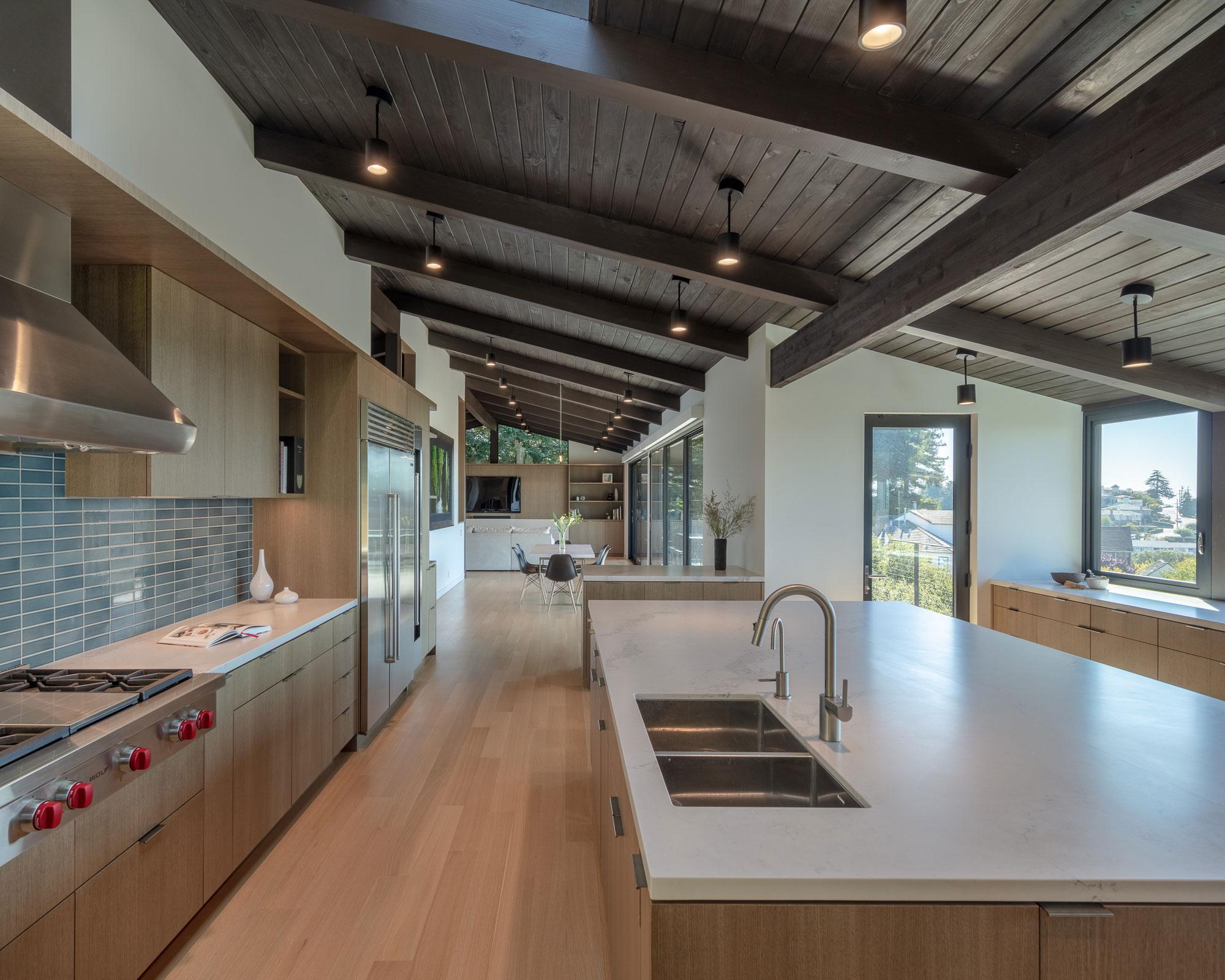 Piedmont HIllside Kitchen 01 Buestad Construction