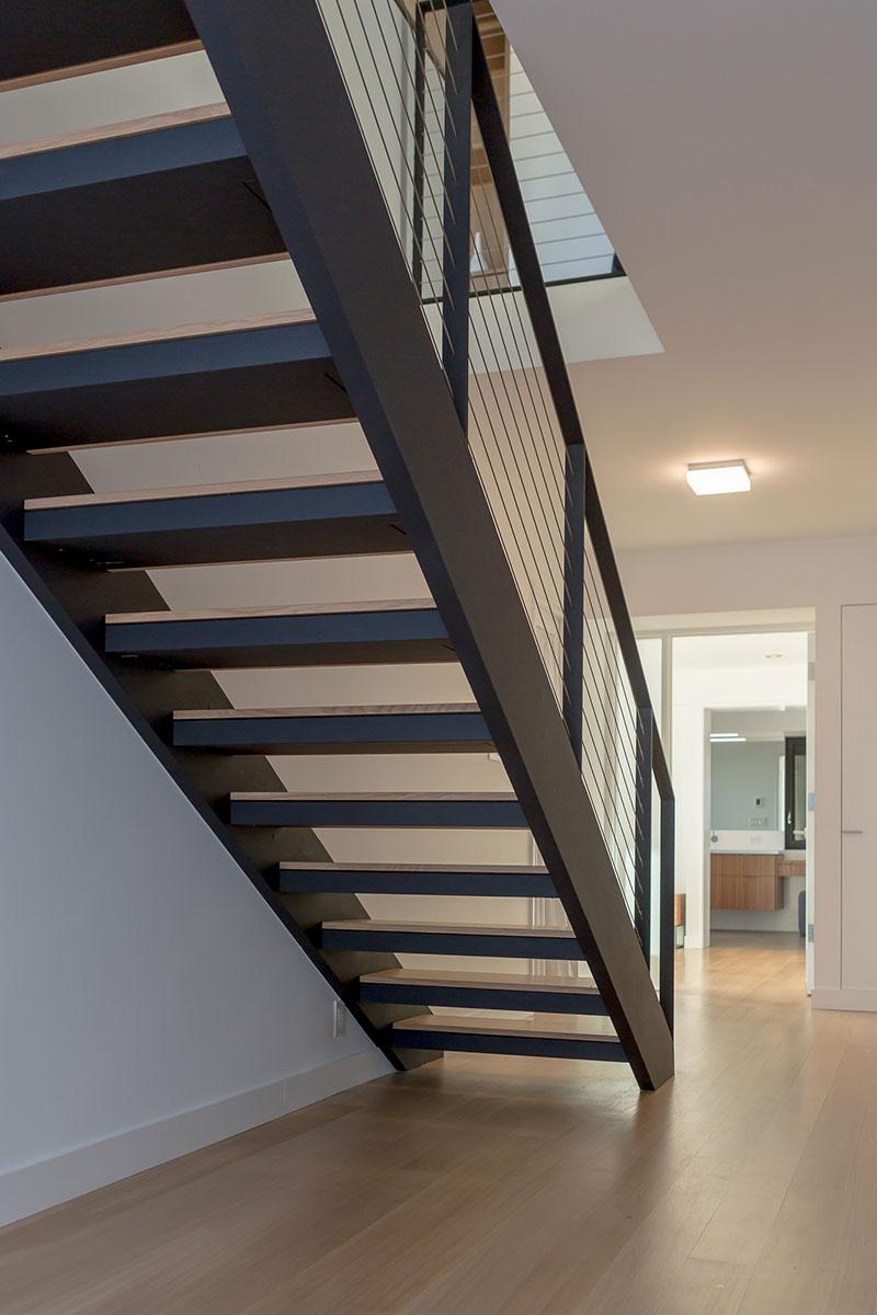 Piedmont HIllside Stair Under Buestad Construction