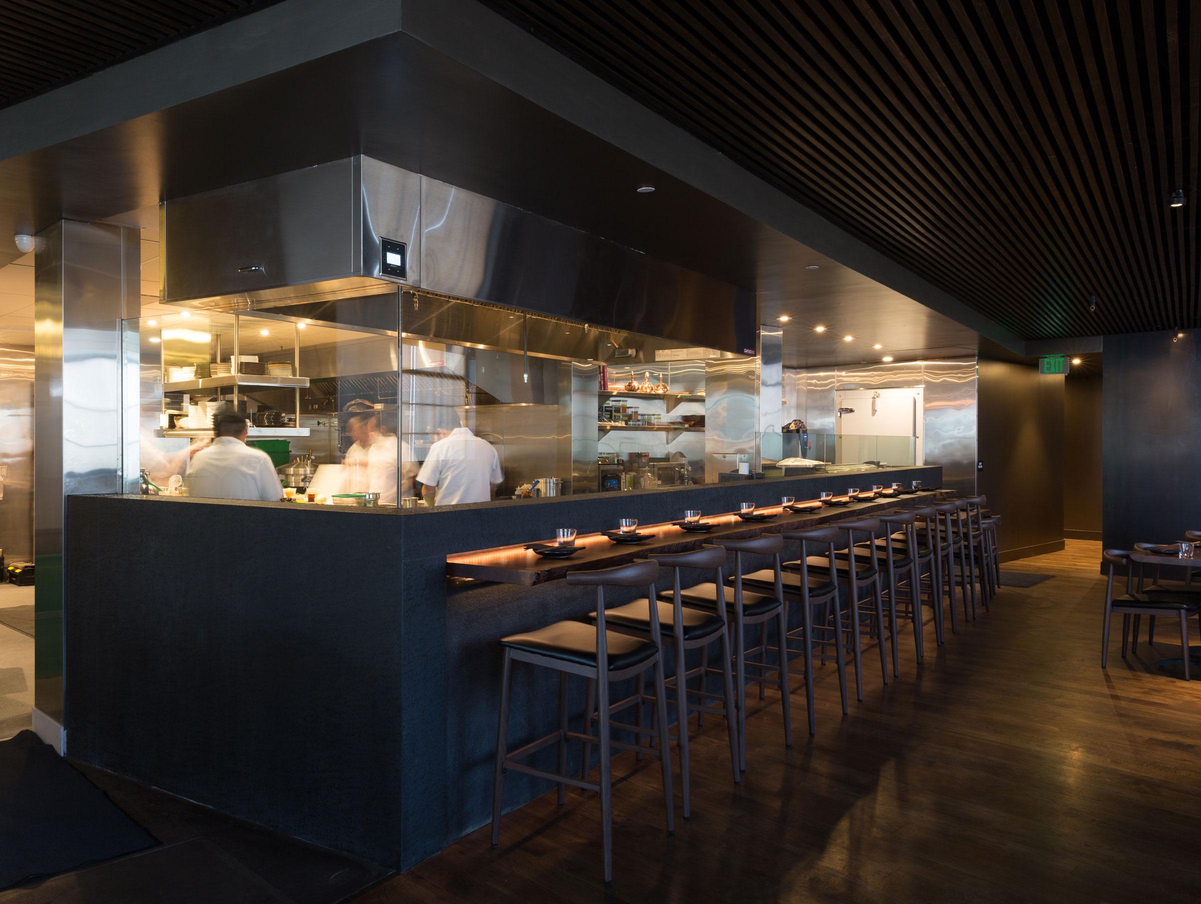 Shinmai Restaurant Kitchen Buestad Construction