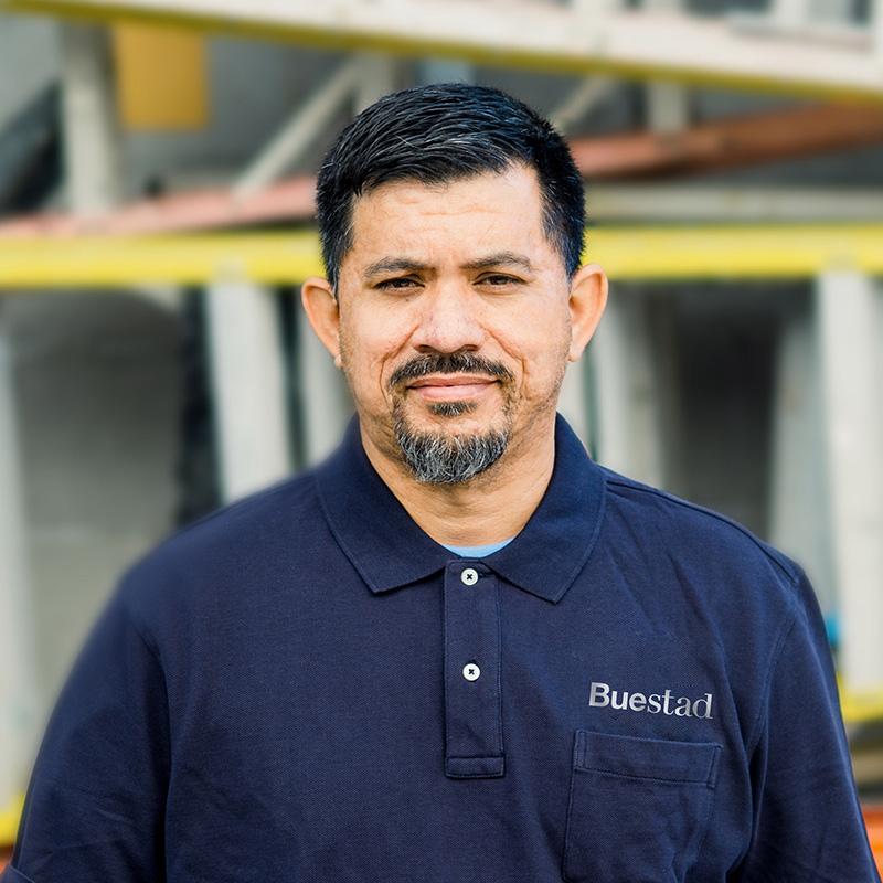 Cesar Tapia, Journeyman Carpenter Buestad Construction