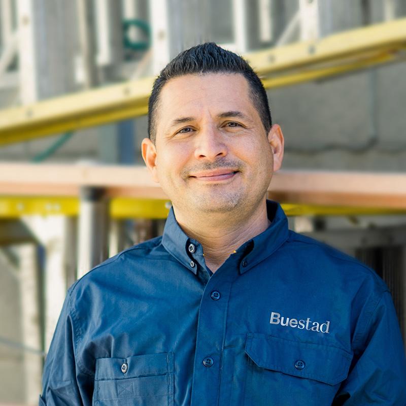 Francisco Vazquez, Journeyman Carpenter Buestad Construction