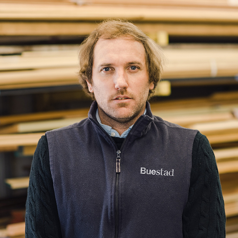 John Christian Buestad, Jr., President, Co-Owner and Project Manager Buestad Construction