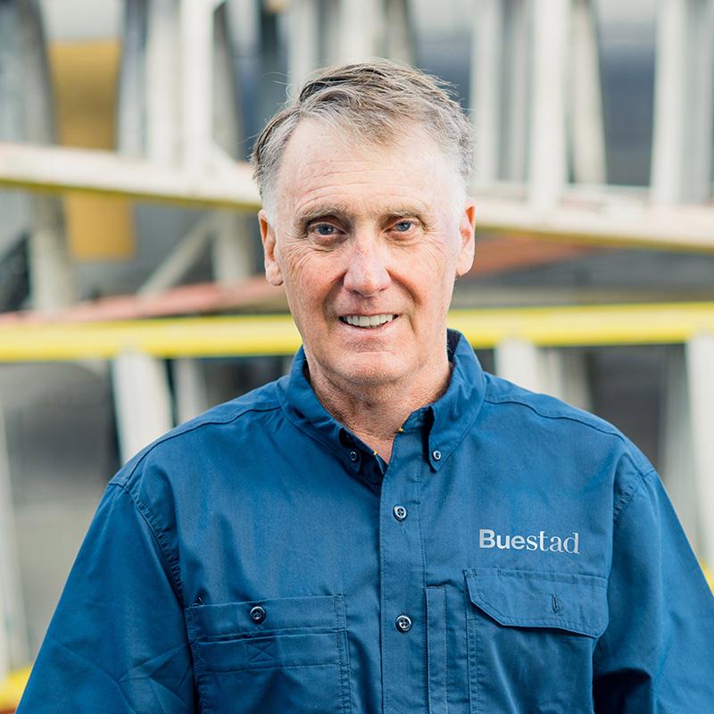 John C. Buestad, Sr., Past President and Co-Owner Buestad Construction