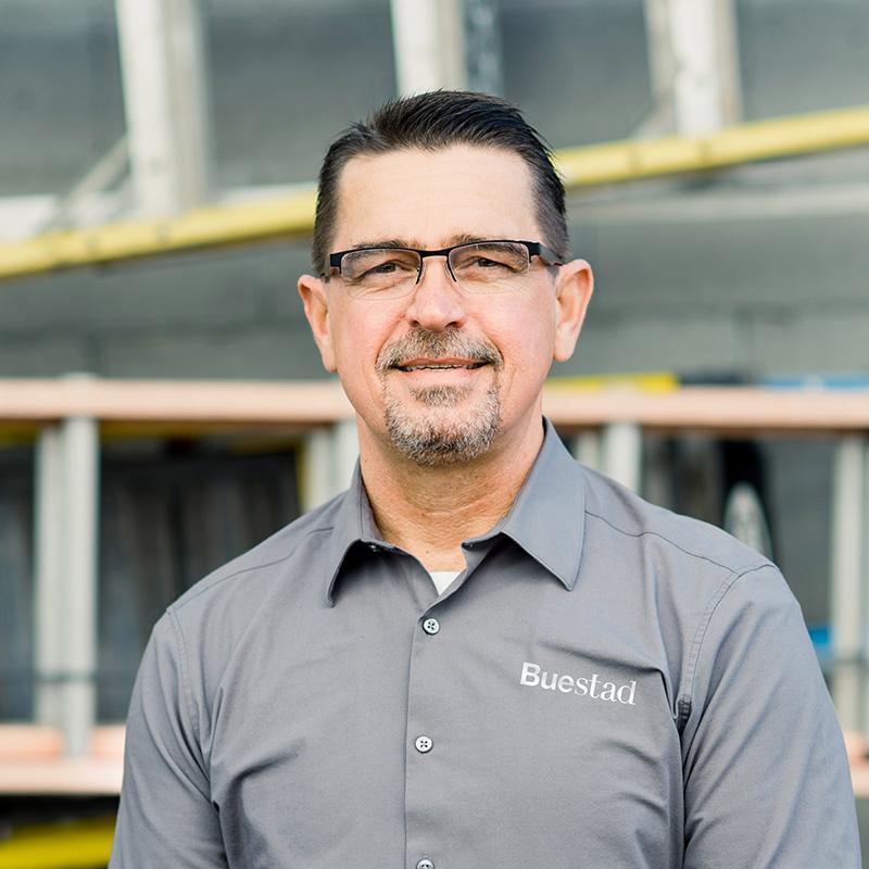 John NovoGradac, General Superintendent Buestad Construction