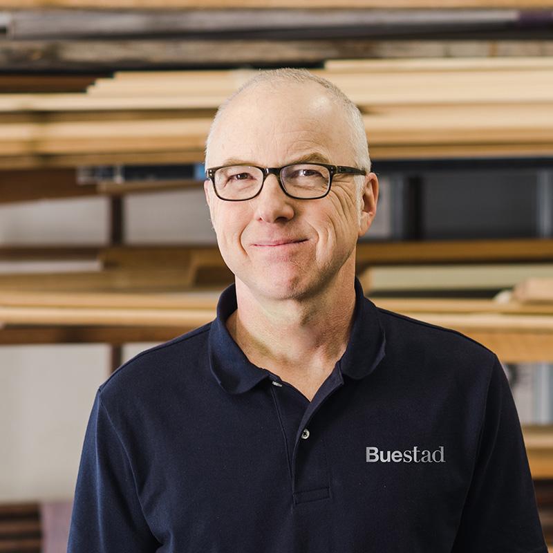 Keith Challberg, Site Supervisor  Buestad Construction