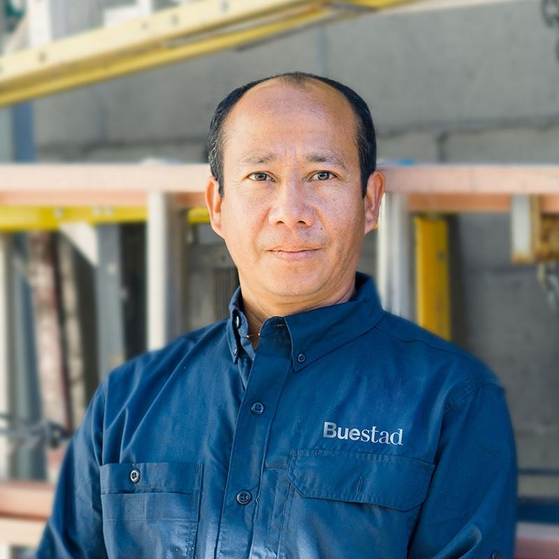 Mauricio Perez, Site Supervisor/Master Carpenter Buestad Construction