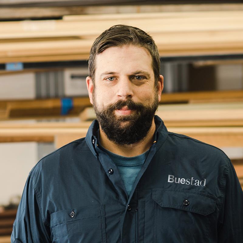 Michael Kunit, Apprentice Carpenter Buestad Construction