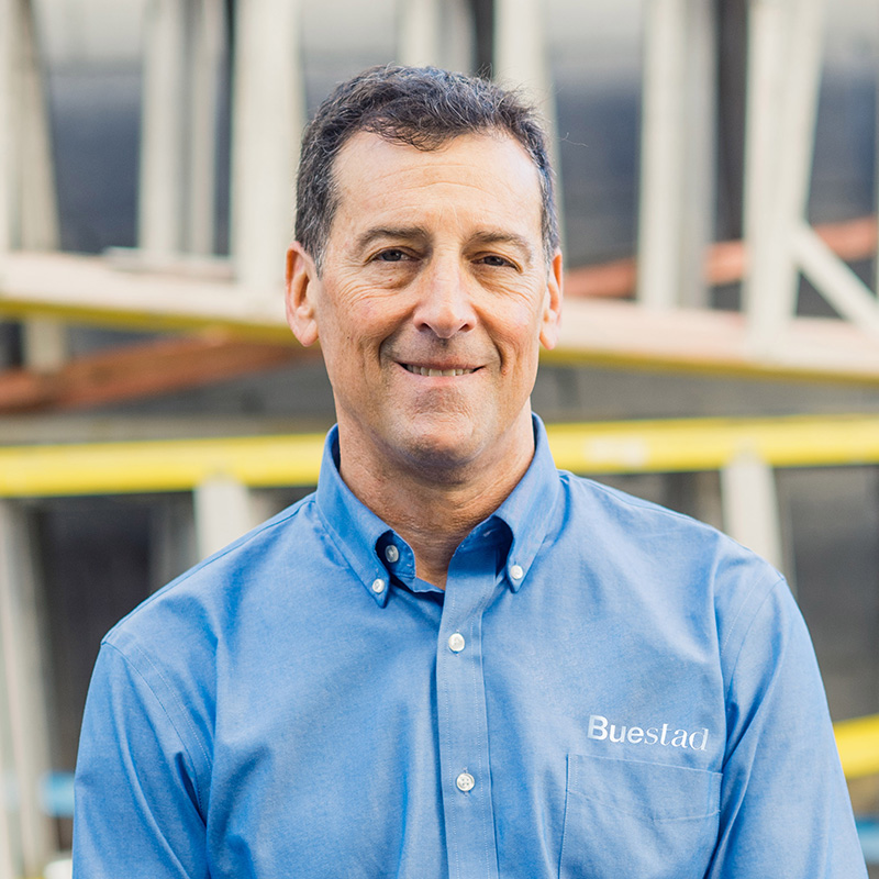 Randy Potter, Business Development and Project Manager Buestad Construction