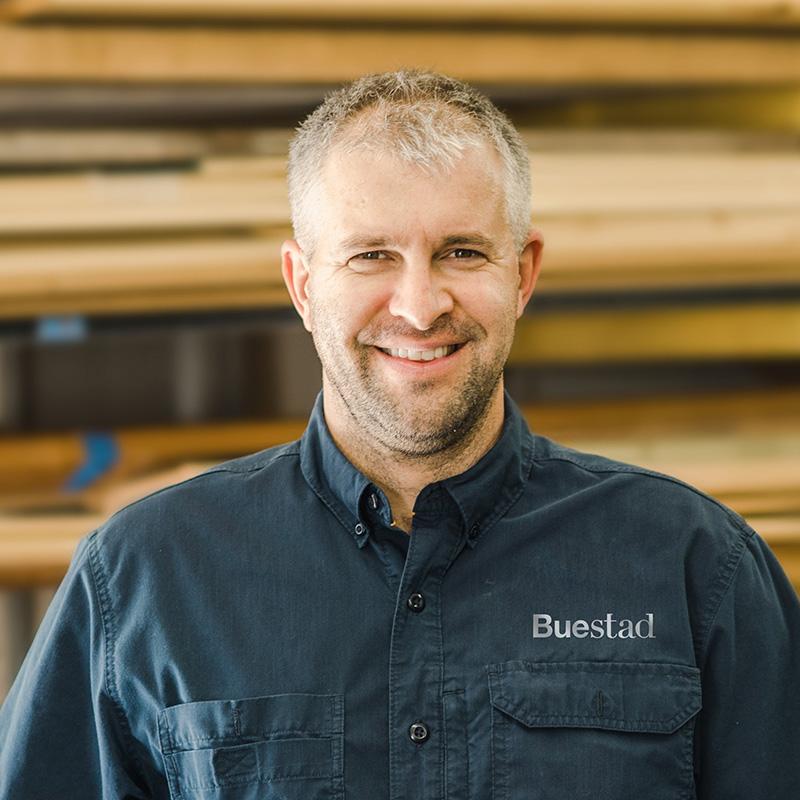 Scott Benty, Journeyman Carpenter Buestad Construction